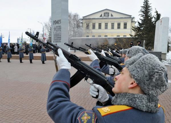 День Защитника Отечества, курсанты, военные, Тюмень|Фото:пресс-служба губернатора Тюменской области