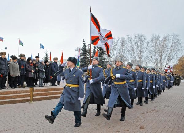 День защитника Отечества, военные, курсанты, Тюмень|Фото:пресс-служба губернатора Тюменской области