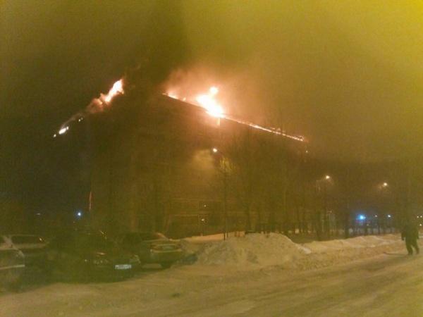 Пожар, Тюмень, Туполева, 10|Фото: vk.com