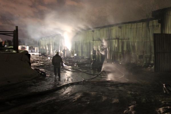склад пожар Екатеринбург|Фото: ГУ МЧС РФ по Свердловской области