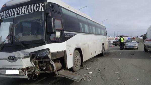 трасса Пермь-Екатеринбург автобус ДТП Фото: ГИБДД Свердловской области