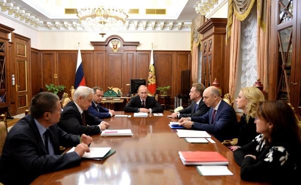 Владимир Путин, совещание, правительство|Фото:kremlin.ru