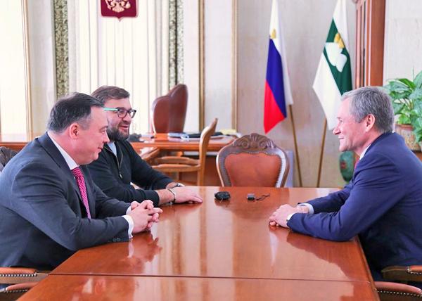 Альберт Баков, Михаил Пореченков, Алексей Кокорин|Фото: kurganobl.ru