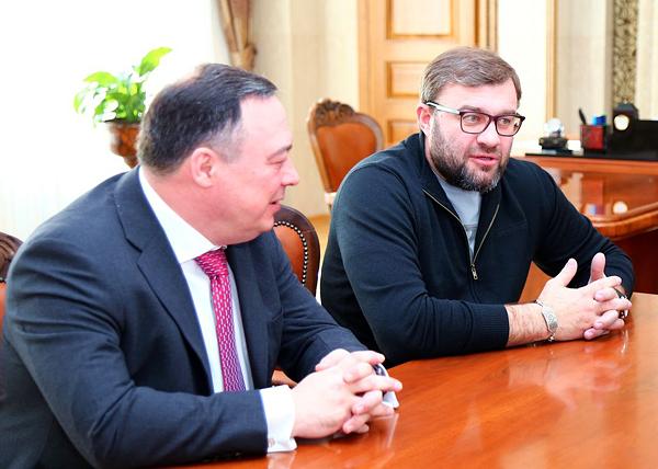 Альберт Баков, Михаил Пореченков|Фото: kurganobl.ru