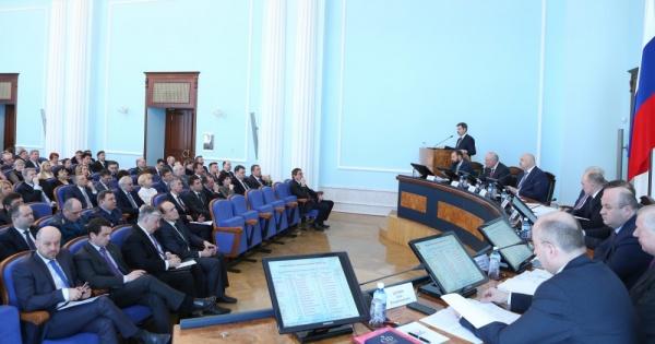 Борис Дубровский совещание с главами Фото: gubernator74.ru