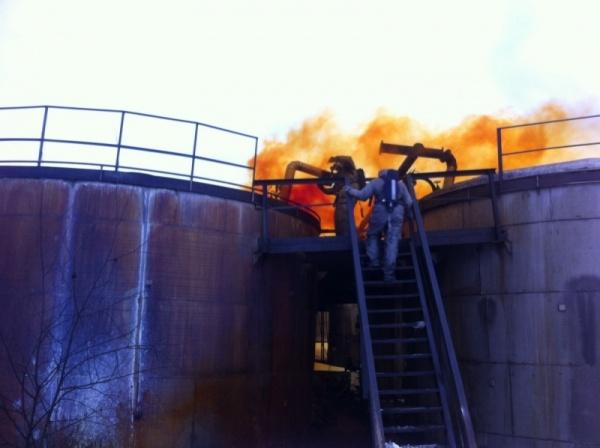 Красноуральск химзавод пожар Фото: ГУ МЧС РФ по Свердловской области