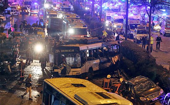 Турция, Анкара, взрыв, теракт, |Фото: AP