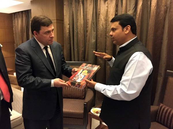 Евгений Куйвашев, рабочая поездка в Индию|Фото: Департамент информационной политики губернатора