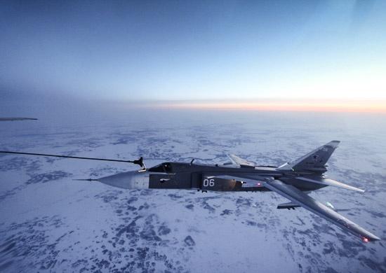 Су-24М самолет дозаправка|Фото: function.mil.ru