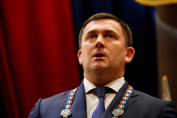 инаугурация главы Каменска-Уральского Алексея Шмыкова|Фото: ДИП губернатора Свердловской области