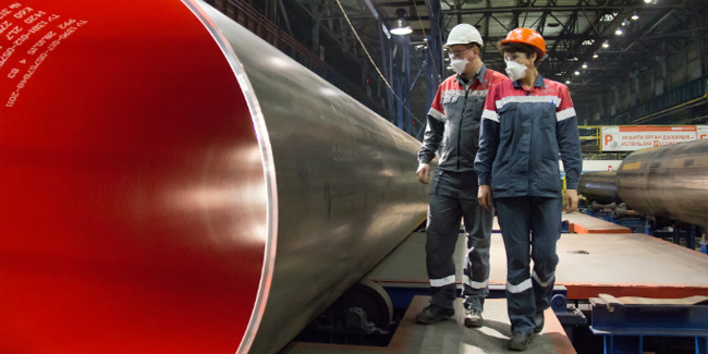 ОМК, трубная продукция, трубы, рабочие, завод Фото: omk.ru
