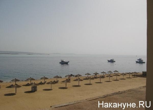 Египет, туризм, пляж, отдых, зонт|Фото: Накануне.RU
