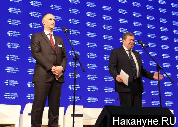 мэф московский экономический форум константин бабкин руслан гринберг|Фото: Накануне.RU