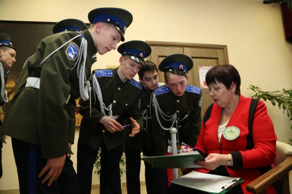 Музей военной техники, кадеты|Фото: УГМК