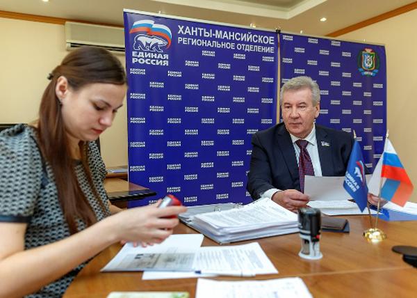 Борис Хохпряков, праймериз|Фото: hmao.er.ru