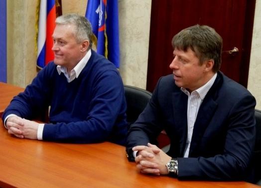 Юрий Борисовец и Игорь Папков|Фото: пресс-служба Единой России