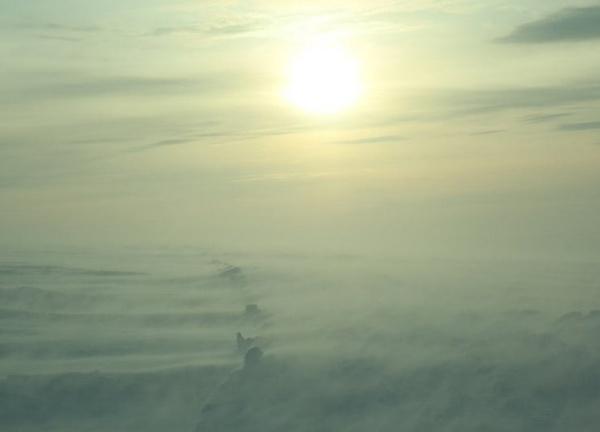 снежная Буря, Таймыр, снег, метель Фото:Северный десант