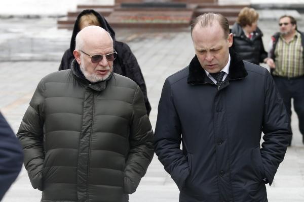 Сергей Пересторонин Михаил Федотов|Фото: ДИП губернатора Свердловской области