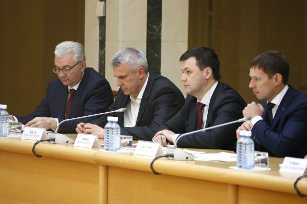 Александр Якоб Сергей Носов|Фото: ДИП губернатора Свердловской области