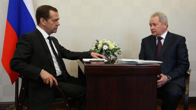 Дмитрий Медведев Виктор Басаргин|Фото: government.ru