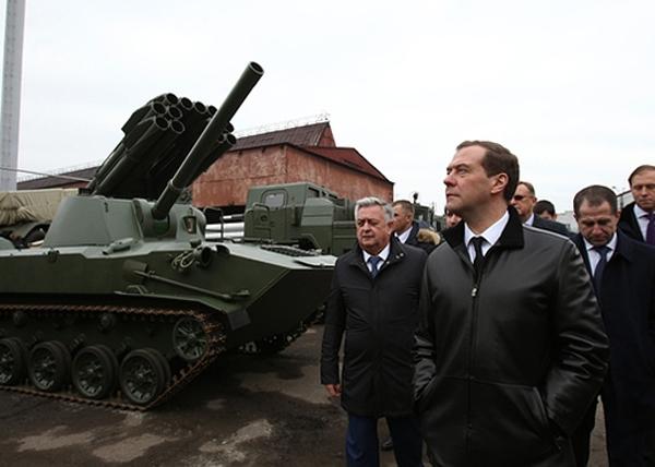 Дмитрий Медведев, Мотовилихинские заводы|Фото: government.ru