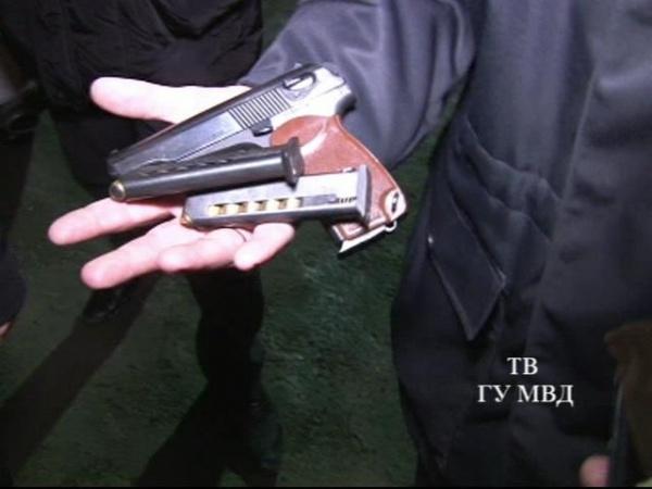 сходка авторитетов Екатеринбург пистолет|Фото: ГУ МВД РФ по Свердловской области