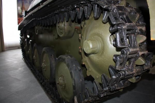 легкий зенитный танк Т-90, гученицы|Фото:УГМК