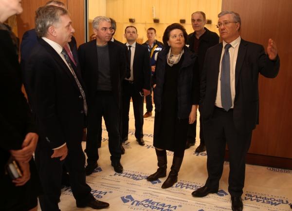 Наталья Комарова, Владимир Богданов, нефтяник|Фото: правительство ХМАО