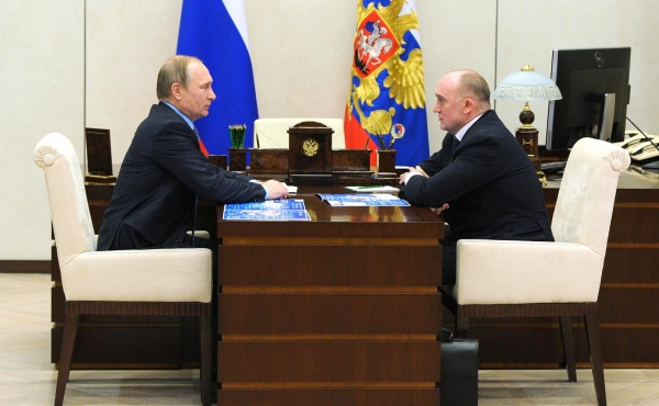 Владимир Путин, Борис Дубровский(2016)|Фото: kremlin.ru