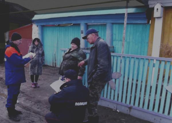 Шатровский район, паводок, ЧС|Фото: МЧС по Курганской области