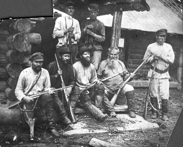 партизаны Восточной Сибири времен Гражданской войны|Фото: