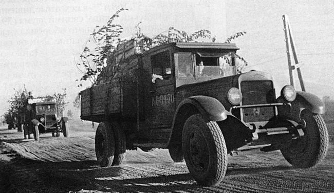 Советский грузовой автомобиль ЗИС-5В|Фото: photobucket.com