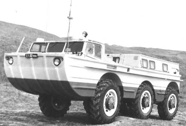 ЗиЛ ПЭУ-1М `1972–79, поисково-эвакуационные установки (ПЭУ-1) для поиска и эвакуации  спускаемых космических объектов и космонавтов. ЗИЛ, зил, ЗиС, Пэу, 100 лет|Фото: