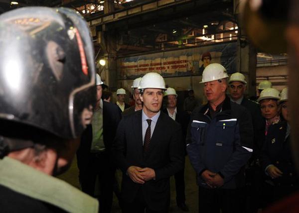 Руслан Гаттаров, Уралавтоприцеп|Фото: пресс-служба губернатора Челябинской области