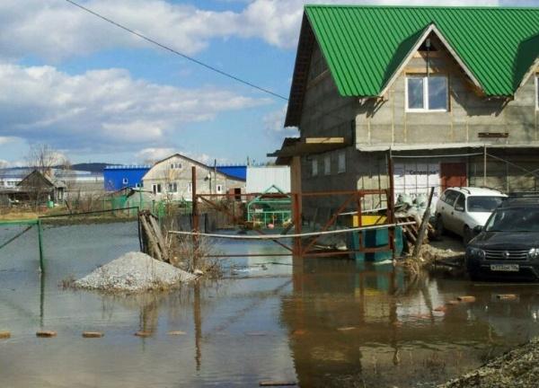Паводок в Первоуральске|Фото:пресс-центр ГУ МЧС России по Свердловской области