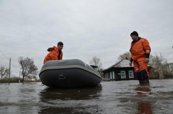 Ирбит паводок спасатели|Фото: ГУ МЧС РФ по Свердловской области