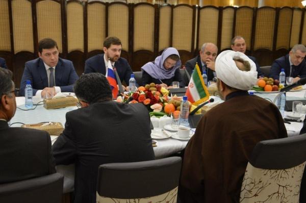 Евгений Куйвашев в Иране|Фото: Департамент информационной политики губернатора