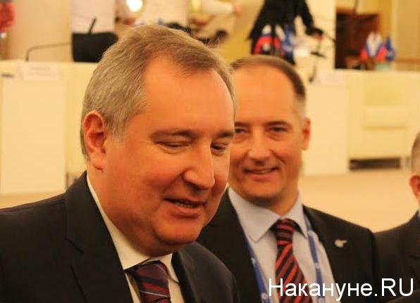 Дмитрий Рогозин, Константин Бабкин Фото: Накануне.RU