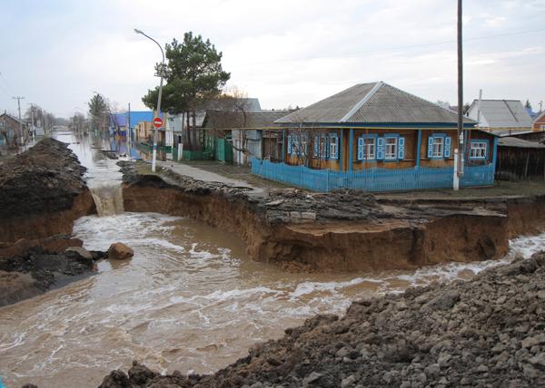 Восстановление Ишима от паводка|Фото: admtyumen.ru