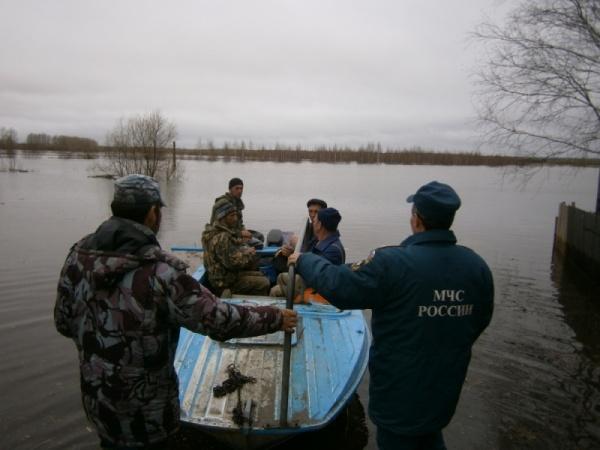 Верхотурье паводок спасатели МЧС|Фото: ГУ МЧС РФ по Свердловской области