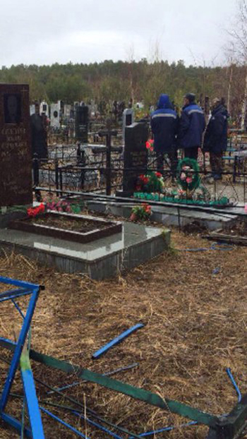Сургут, ДТП, кладбище|Фото: Пресс-служба УМВД ХМАО-Югры