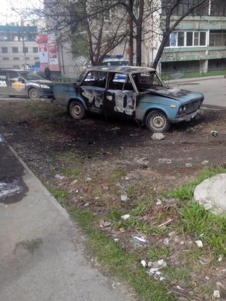 ВАЗ 2106, пожар, машина, авто|Фото:https://vk.com/te_ekb