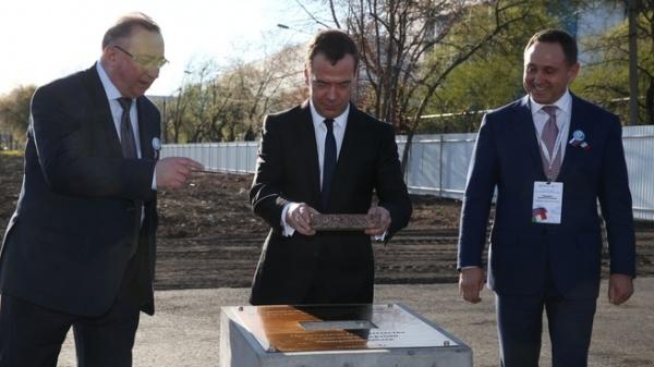 """Дмитрий Медведев, """"Русские электрические двигатели"""" Фото: правительство.рф"""