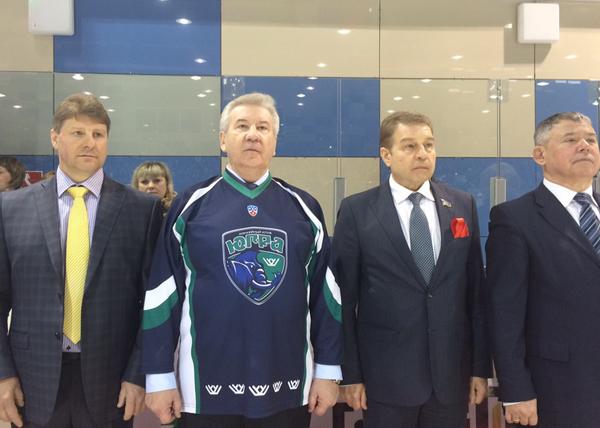 Борис Хохряков, хоккейный клуб Югра|Фото: dumahmao.ru