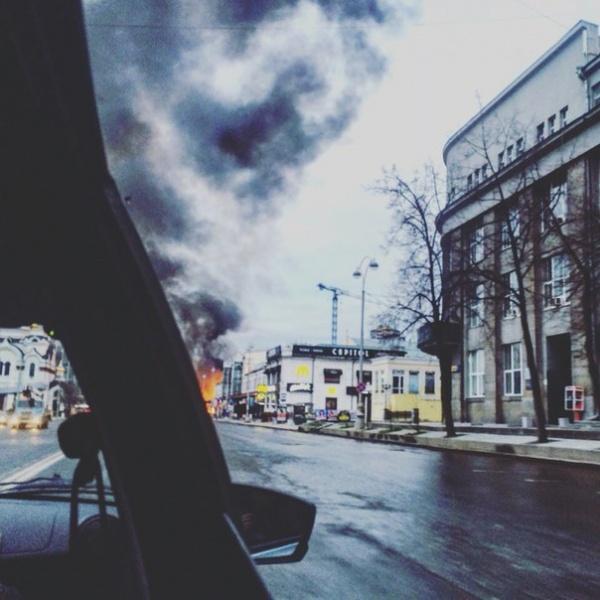 пожар кафе Екатеринбург|Фото: vk.com