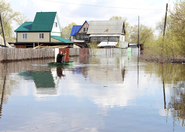 паводок Курган Тобол|Фото: kurganobl.ru