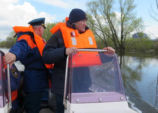 паводок Курган Тобол Кокорин Рожков|Фото: kurganobl.ru