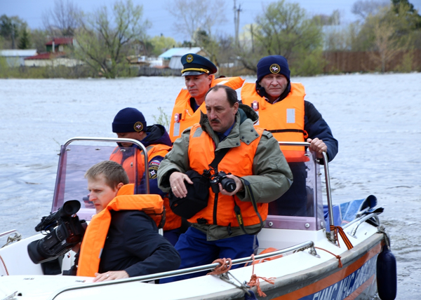 паводок Курган Тобол Кокорин Поршань Рожков|Фото: kurganobl.ru