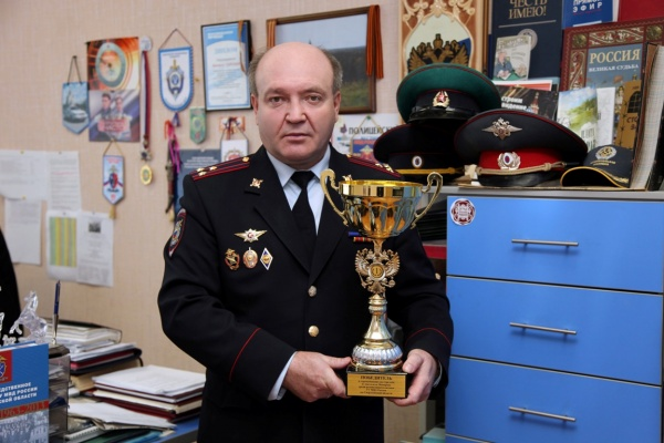 Валерий Горелых кубок|Фото: ГУ МВД РФ по Свердловской области