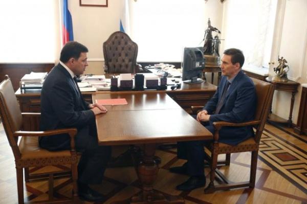 Евгений Куйвашев Сергей Зырянов|Фото: ДИП губернатора Свердловской области